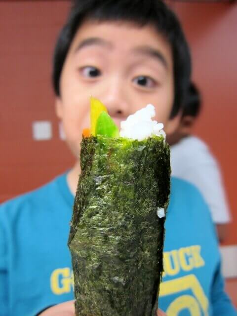 sushi face!