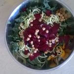 Une salade réussie! / Salad adventure with beets!